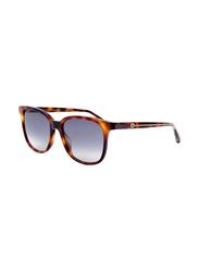 Gucci Full Rim Square Havan Sunglasses for Women, Grey Gradient Lens, GU-0376/S-003, 54/17/140