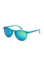 Polaroid Full Rim Square Green Sunglasses for Boys, Green Lens, PLD-8016/S-PVJ48K7, 46/16/127