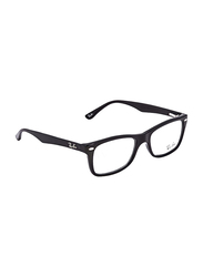 Ray-Ban Full Rim Rectangle Black Frame Unisex, RX5228-2000, 50/17/140