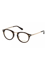 Tom Ford Full Rim Round Havana Frame Unisex, FT-546700148, 48/22/145