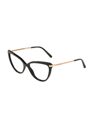 Dolce & Gabbana Full Rim Cat Eye Black Frame for Women, DG3295-501, 55/16/140