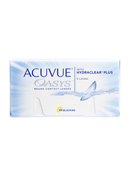 Acuvue Oasys with Hydraclear Plus 2-Week Pack of 6 Contact Lenses, Clear, -5.75