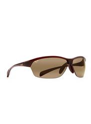 Maui Jim Polarized Rimless Rectangle Brown Sunglasses Unisex, Brown Lens, MJ-H426, 71/16/116