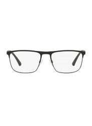Emporio Armani Full Rim Square Matte Black Frame for Men, EM-1079-3094, 55/18/140