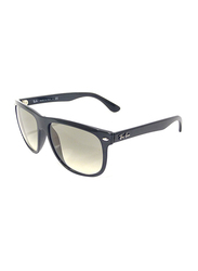 Ray-Ban Full Rim Rectangle Black Sunglasses for Men, Black Gradient Lens, RB41471/32, 60/15/145