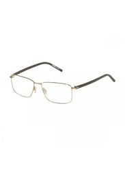 Rodenstock Full Rim Square Gold/Olive Green Frame for Men, RS-R2607-D140-5415, 54/15/140