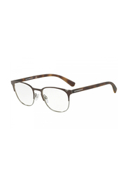 Emporio Armani Full Rim Square Brown Tortoise Frame for Men, EM-1059-3179, 53/19/145