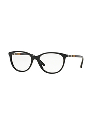 Burberry Full Rim Cat Eye Black Frame for Women, BU-2205-3001, 52/17/145