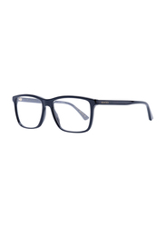 Gucci Full Rim Rectangle Black Frame for Men, GU-0407/O-001, 55/16/145