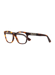 Gucci Full Rim Square Havana Frame for Women, GU-0420/O-002, 52/18/140