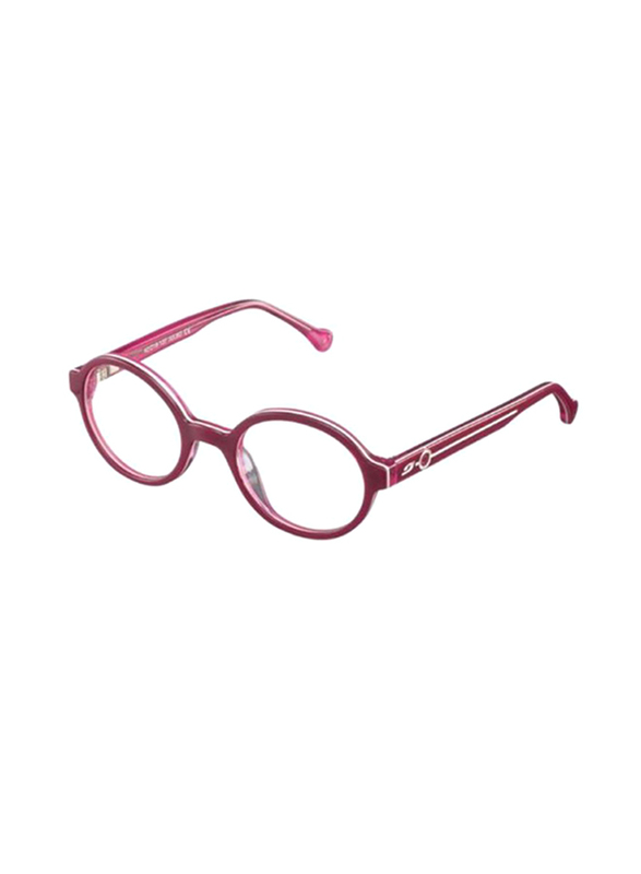 Julbo Full Rim Round Pink Frame for Kids, JB-MELODY-OP12554218, 44/0/120