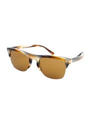 Dolce & Gabbana Full Rim Butterfly Tortoise Brown Sunglasses for Men, Brown Lens, DG4305-311653, 53/20/145
