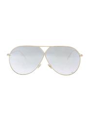 Dior Full Rim Aviator Metallic Sunglasses for Women, Pink Mirrored Lens, CD-DRSTLLRE3-J5G65DC, 65/1/145