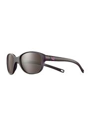 Julbo Romy Full-Rim Oval Black Sunglasses for Girls, with Blue Light Filter, Black Lens, 4-8 Years, JBF-ROMYJ5082026, 45/17/107