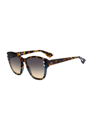 Dior Full Rim Cat Eye Blue Havana Sunglasses for Women, Grey Gradient Lens, CD-DRADDICT3-JBW6086, 60/17/145