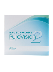 Bausch & Lomb Purvision 2HD Monthly Contact Lenses, Natural, -8.5