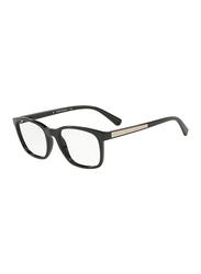 Emporio Armani Full Rim Square Black Frame for Men, EM-3141-5017, 53/19/145
