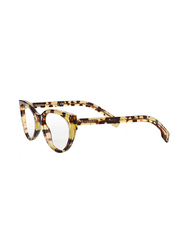 Burberry Full Rim Cat Eye Honey Havana Frame for Women, BU-2289-3278, 53/20/140