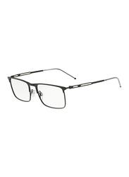 Emporio Armani Full Rim Square Black Frame for Men, EM-1083-3001, 53/18/145