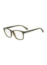 Emporio Armani Full Rim Square Green Frame for Men, EM-3141-5725, 53/19/145