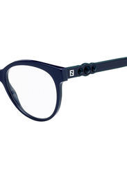 Fendi Full Rim Round Purple Frame for Women, FN-0275-B3V5217, 52/17/145