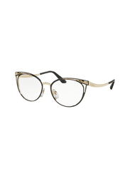 Bvlgari Full Rim Cat Eye Black/Gold Frame for Women, BV2186-2018, 53/17/140