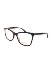 Noor Full Rim Cat Eye Dark Brown Frame for Women, NR-NO3105-C007