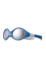 Julbo Looping 3 Full-Rim Round Blue Sunglasses for Kids, with Blue Light Filter, Grey Lens, 2-4 Years, JBF-LOOPING3J349112C, 45/15/120