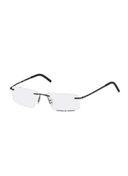 Porsche Design Rimless Rectangle Black Frame Unisex, PD-8321S2A, 55/15/140