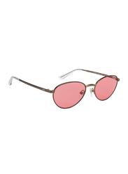 Vogue Full Rim Cat Eye Copper Sunglasses for Women, Pink Lens, VO4082S-507484, 53/17/135