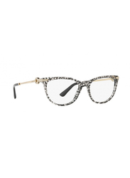 Bvlgari Full Rim Round Black San Pietrino Frame for Women, BV4155B-5376, 52/17/140