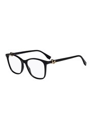 Fendi Full Rim Square Purple Frame for Women, FN-0300-8075317, 53/17/140