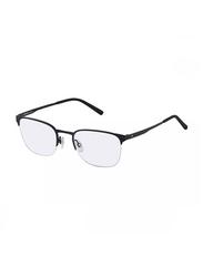 Rodenstock Half-Rim Square Black Frame for Men, RS-R2594-C145-5321, 53/21/145