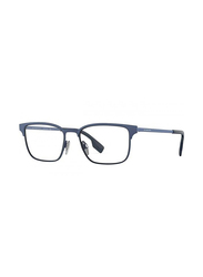 Burberry Full Rim Rectangle Blue Frame for Men, BU-1332-1288, 54/17/145