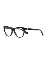 Gucci Full Rim Cat Eye Black Frame for Women, GU-0373/O-001, 52/16/140