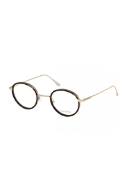 Tom Ford Full Rim Round Black Frame for Men, FT-552100146, 46/22/140