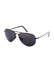 Porsche Design Full Rim Aviator Black Sunglasses Unisex, Black Lens, PD-8508D, 60/12/140