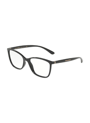 Dolce & Gabbana Full Rim Rectangle Black Frame for Women, DG5026-501, 54/17/140
