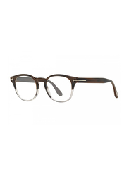 Tom Ford Full Rim Round Brown/Grey Frame for Men, FT-540006548, 48/19/145