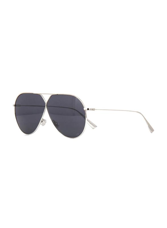 Dior Full Rim Aviator Black Sunglasses for Women, Black Lens, CD-DRSTLLRE3-3YG65IR, 65/1/145