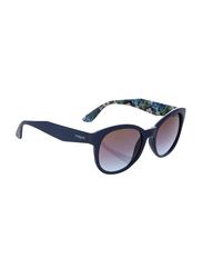 Vogue Full Rim Cat Eye Blue Sunglasses for Women, Blue Lens, VO2992S-232548, 53/19/140