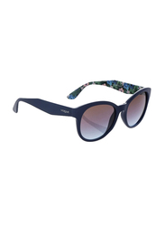 Vogue Full Rim Cat Eye Blue Sunglasses for Women, Blue Lens, VO2992S-232548, 53/19/140