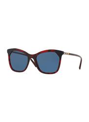 Burberry Full Rim Butterfly Tortoise Sunglasses for Women, Brown Lens, BU-4263-371180, 54/19/140