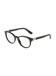 Dolce & Gabbana Full Rim Cat Eye Black Frame for Women, DG3268-501, 48/18/140