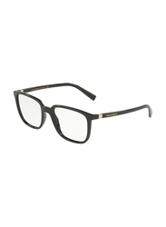 Dolce & Gabbana Full Rim Rectangle Black Frame for Men, DG5029-501, 52/18/140