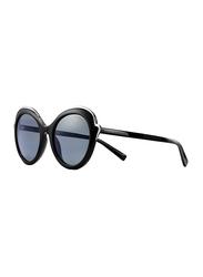 Tiffany&Co Full Rim Butterfly Black Sunglasses for Women, Grey Lens, TF-4155-80013F, 54/21/140