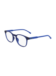Lacoste Full-Rim Cat Eye Blue Computer Glasses for Kids, with Blue Light Filter, Clear Lens, 8-13 Years, LA-L3632-424-47-BC, 47/18/135