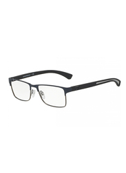 Emporio Armani Full Rim Rectangle Grey Frame for Men, EM-1052-3155, 53/17/140