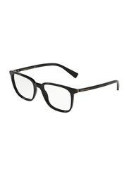 Dolce & Gabbana Full Rim Square Black Frame for Men, DG3298-501, 53/18/140