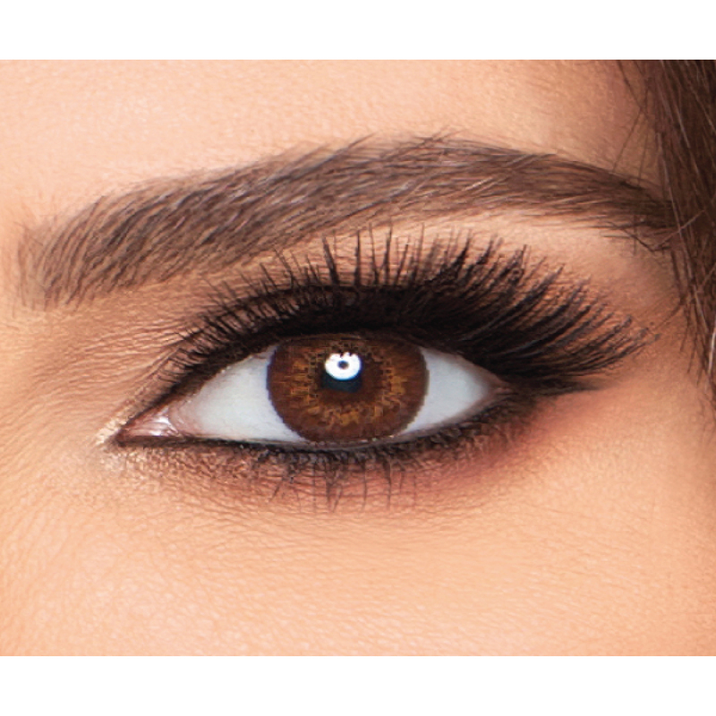 FreshLook Colorblends Monthly Pack of 2 Contact Lenses, Brown, -5.75